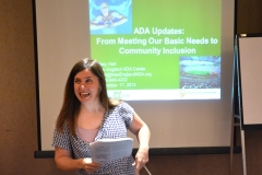 ADA Updates: From Meeting Our Basic Needs to Community Inclusion - Stacy Hart from New England ADA Center