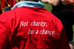 Not Charity but a Chance