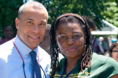 Governor Patrick and Kay