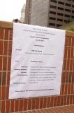 schedule of events