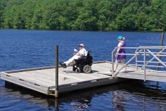 Paul on dock