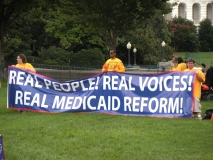 Large banner - Real People, Real Voices, Real Medicaid Reform