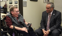 Paul and State Rep. Chris Walsh
