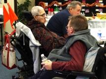 Exec. Director, Paul Spooner talks to Disability Activist, Sybil Feldman