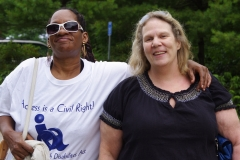 Carol and Tina from MWCIL
