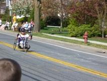 man handcyclist