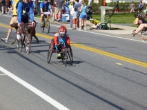 woman wheelchair racer