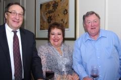 Fred Masilo, the MC of the Roast, with Bob Call and his wife Carla