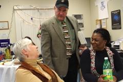 Sue, Ed Carr (MWRTA) and Keolise (MWCIL)