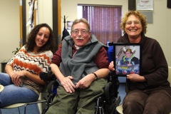 Lily (MWCIL), Paul, (E.D. of MWCIL) and Debbie (BOD of MWCIL)