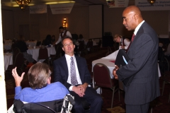 Henry Claypool, Paul Spooner and Michael Weekes of the Providers Council