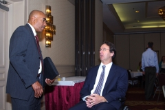 Henry Claypool and Michael Weekes of the Providers Council
