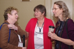 Jini from MWCIL, and Janet Shaw, Chair of MASILC and from STAVROS