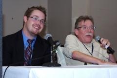 Jim Clark, MASILC Coordinator and Paul Spooner, Executive Director of MWCIL, begin the conference.