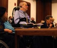 Eileen Feldman testifies.
