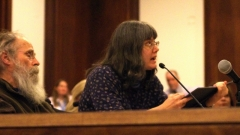 Denise Karuth testifies.