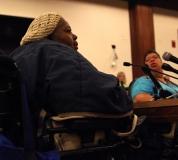Joanne Daniels-Feingold testifies.