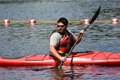 DCR Staff in kayak