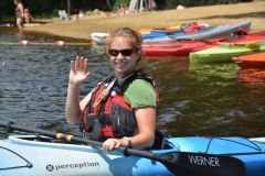 DCR kayaker