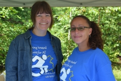 Julie and Lily from MWCIL