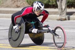 Winner of Mens Wheelchairs - Hiroyuki Yamamoto of Japan