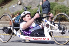 5th Place Handcycle - Kevin Dubois of Rhode Island