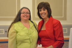 Wini McGraw (left) of Independence Associates