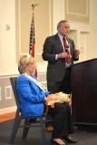 State Rep Chris Walsh roasts State Senator Karen Spilka