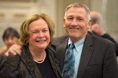 Bill Allan and Mary Lou Maloney
