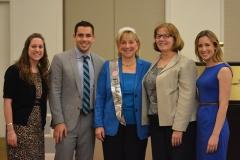 Senator Karen Spilka and her staff