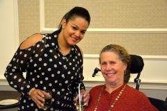 IL Achievement Award Winner, Liz Casey (right)