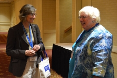 Ann Shor of MRC and Mary Margaret Moore, ED of Independent Living Center of the North Shore and Cape Ann Inc.