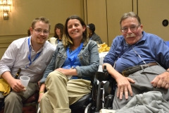 Jim, Liz and Paul