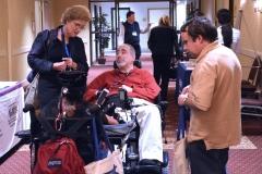 Cindy Wentz, MRC and Joe Tringali, activist