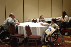 Joe Bellil and Colleen Flanagan of Easter Seals, MA