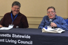 Steve Higgins, Executive Director at Independence Associates and Paul Spooner, Executive Director at MWCIL