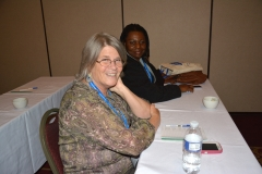 Pat and Kay from MWCIL