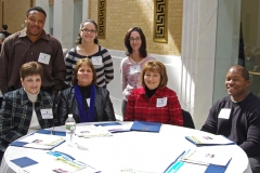 Staff from Independence Associates Center for Independent Living in Brockton