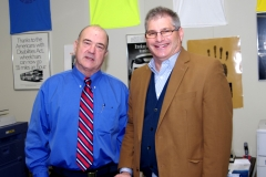 MWRTA Administrator, Ed Carr, and Natick Representative, David Linsky