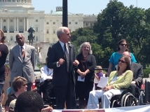 Tony Coelho with CRPD - Citizens for Rights of People with Disabilities