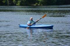 man in kayak