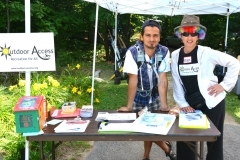 Outdoor Access signing up hikers