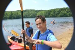 boys ready to kayak