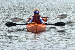 Jini kayaking