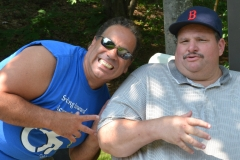 Dave from MWCIL and Joe from Easter Seals