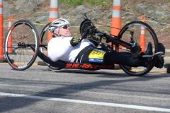 Samuel Spencer of New Jersey - winner of Men's Hand Cycle