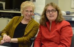 Myra Berloff (MOD) and Karen Langley (MRC)