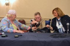 Mary Margaret Moore, Paul Spooner and Lou Ann Kibbee