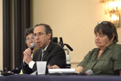 Aaron Gorstein of DHCD and Janet Shaw of STAVROS