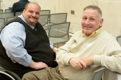 Joe Bellil (Easter Seals and MWCIL) and Bill Allen